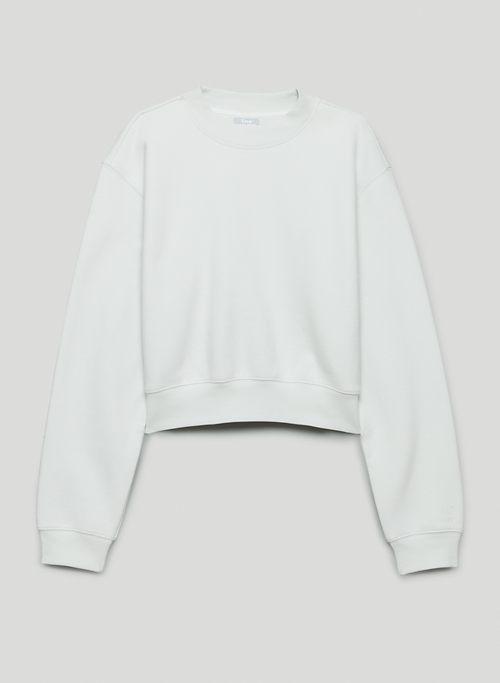 COZY FLEECE PERFECT SHRUNKEN SWEATSHIRT - Cropped crew-neck sweatshirt