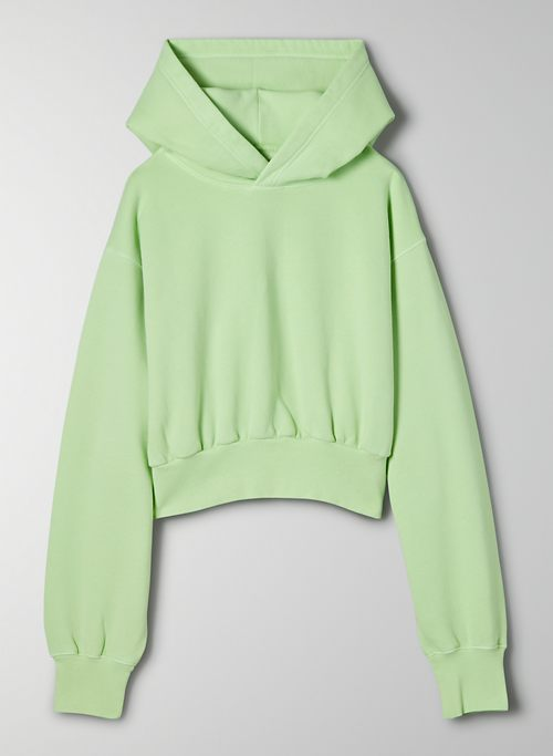 COZY FLEECE PERFECT SHRUNKEN HOODIE