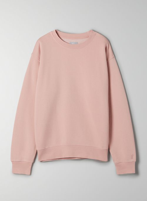 COZY FLEECE PERFECT CREW SWEATSHIRT - Crew-neck sweater