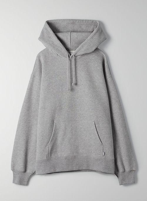 COZY FLEECE BOYFRIEND HOODIE - Oversized pullover hoodie