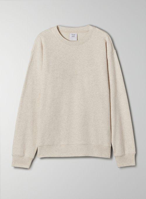 AIRY FLEECE PERFECT CREW SWEATSHIRT - Lightweight crew-neck sweater