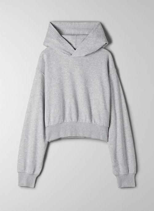 AIRY FLEECE PERFECT SHRUNKEN HOODIE - Cropped hoodie