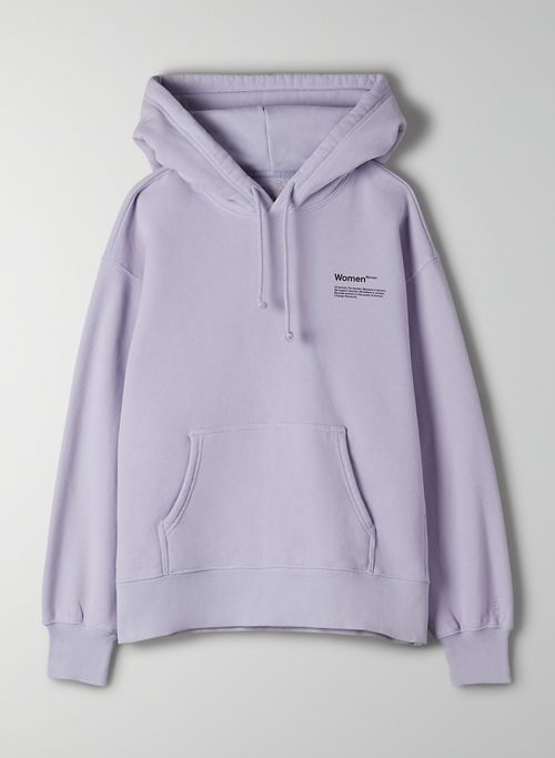 POWER OF WOMEN HOODIE - Limited-edition boyfriend-fit hoodie