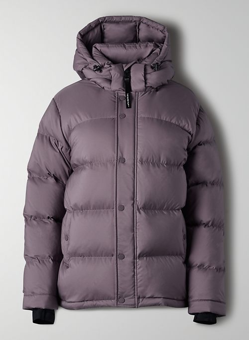 THE SUPER PUFF™ - Matte goose-down puffer jacket