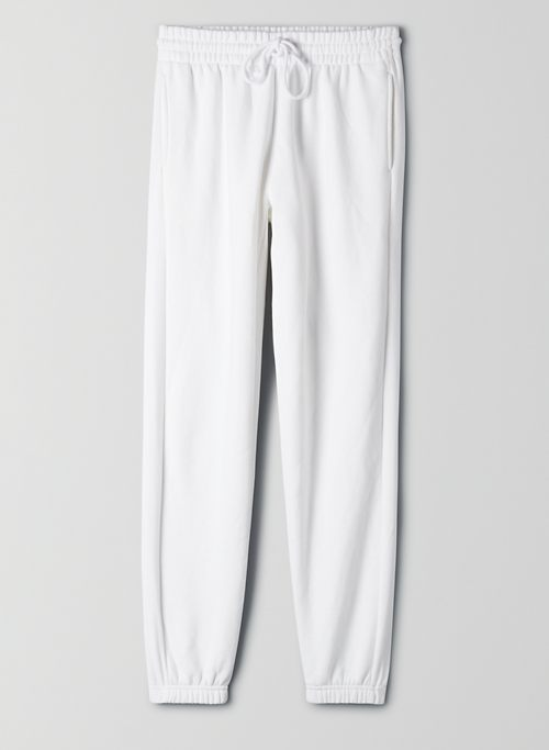 COZY FLEECE BOYFRIEND SWEATPANT - Cozy Fleece, boyfriend-fit sweatpant