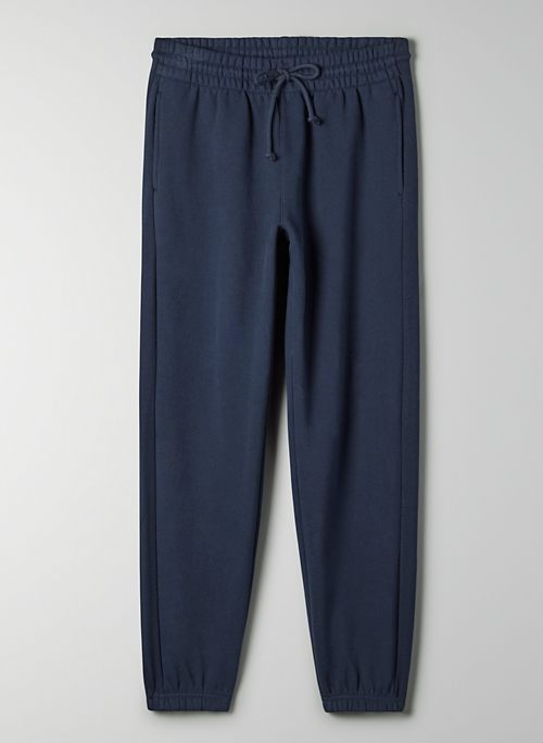 COZY FLEECE BOYFRIEND SWEATPANT - Cozy Fleece, boyfriend-fit sweatpants