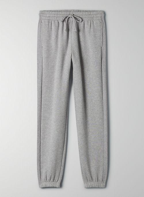 COZY FLEECE BOYFRIEND SWEATPANT - Cozy Fleece, boyfriend-fit sweatpants