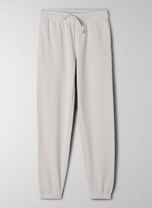 AIRY FLEECE PERFECT SWEATPANT - Mid-rise, lightweight sweatpants