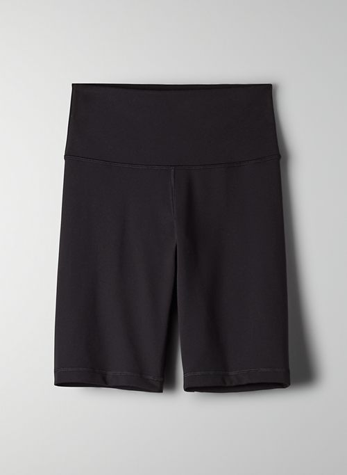"TNALIFE ATMOSPHERE HI-RISE 9"" SHORT - High-waisted, long bike short"