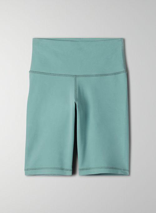 "TNALIFE™ ATMOSPHERE HI-RISE 9"" SHORT - Long, high-waisted bike shorts"