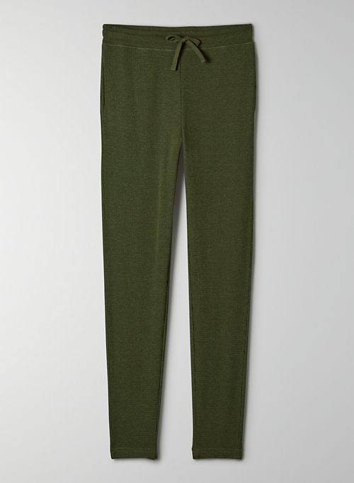 THERMAL HIGH-RISE JOGGER - Cozy, thermal sweatpants
