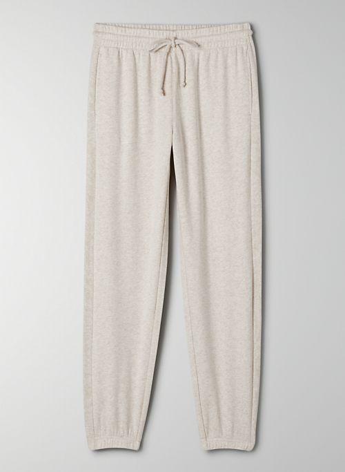AIRY FLEECE BOYFRIEND SWEATPANT - Boyfriend-fit sweatpants