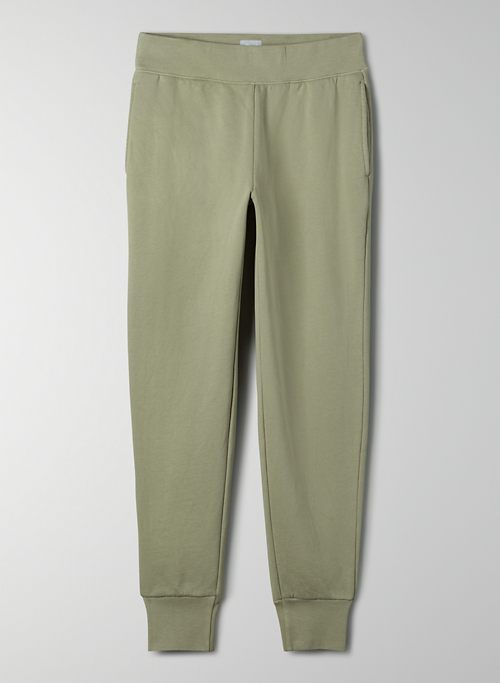 COZY FLEECE PERFECT POCKET SWEATPANT - Mid-rise pocket sweatpant