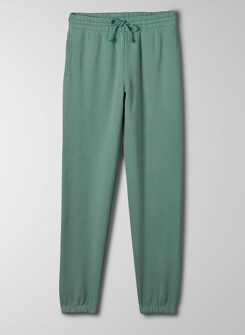 COZY FLEECE PERFECT SWEATPANT - Mid-rise, slim sweatpants
