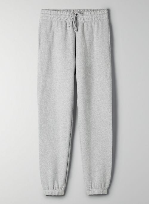 COZY FLEECE PERFECT SWEATPANT - Mid-rise, slim sweatpant