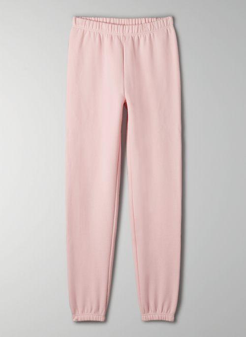 COZY FLEECE PERFECT HI-RISE SWEATPANT - High-waisted sweatpants