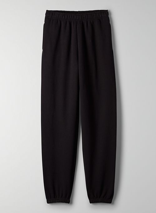 COZY FLEECE BOYFRIEND BASIC SWEATPANT - Slim-leg sweatpants