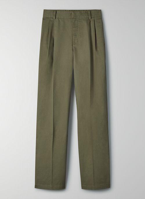 CRAWFORD PANT - High-waisted chinos