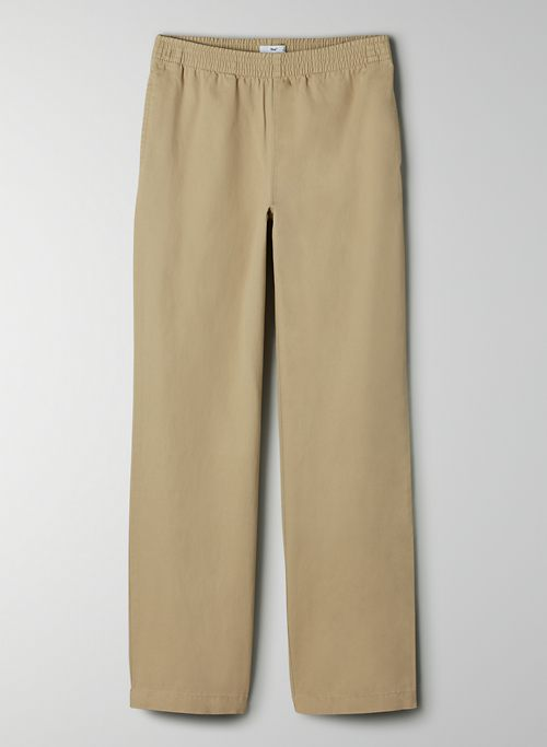 CHRISTIE PANT - Pull-on, straight-leg pant
