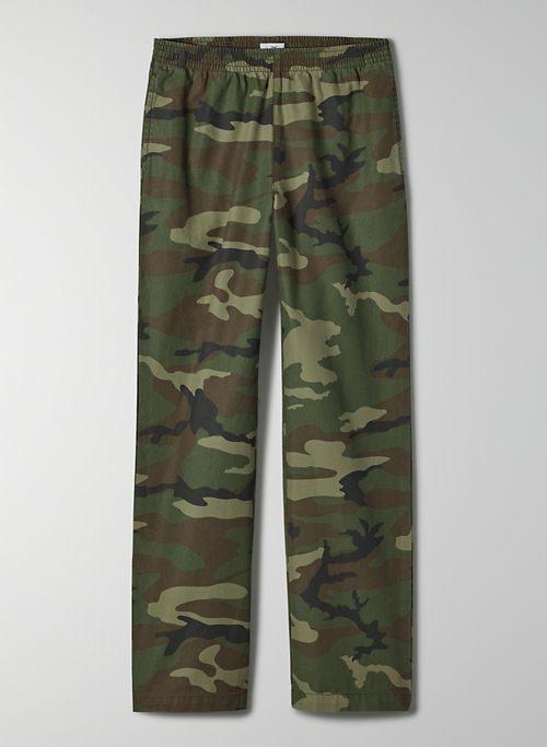 CHRISTIE PANT - Pull-on camo pants