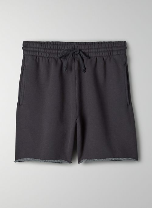 "COZY FLEECE BOYFRIEND 6"" SWEATSHORT - Mid-rise, Cozy Fleece sweatshorts"