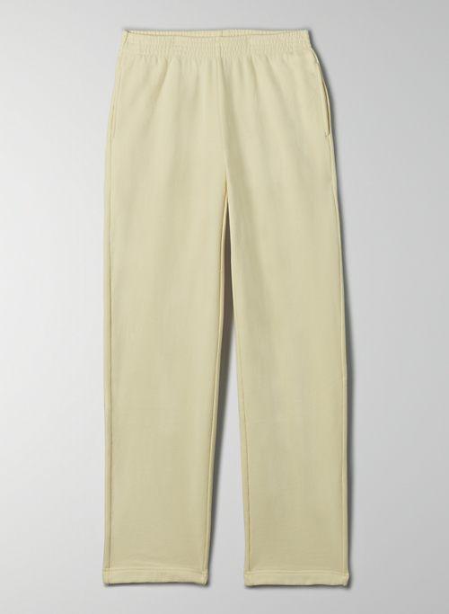 COZY FLEECE BOYFRIEND STRAIGHT SWEATPANT - Straight-leg sweatpant