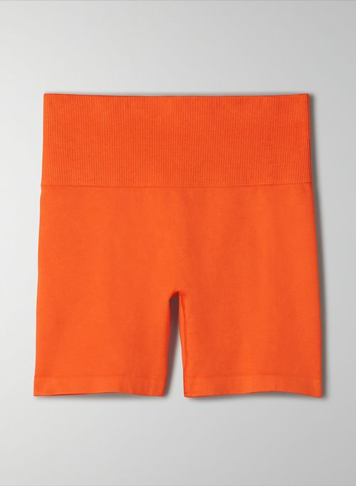 "TNABODY™ ATMOSPHERE HI-RISE 5"" SHORT - Seamless, high-waisted bike shorts"