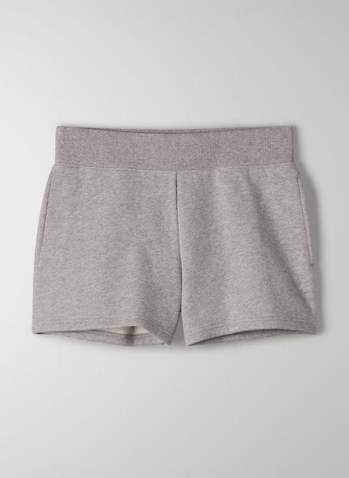 """COZY FLEECE PERFECT POCKET 3"""" SWEATSHORT - Mid-rise, Cozy Fleece sweatshorts"""