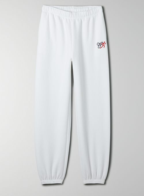 COZY FLEECE MEGA SWEATPANT - Oversized retro sweatpants