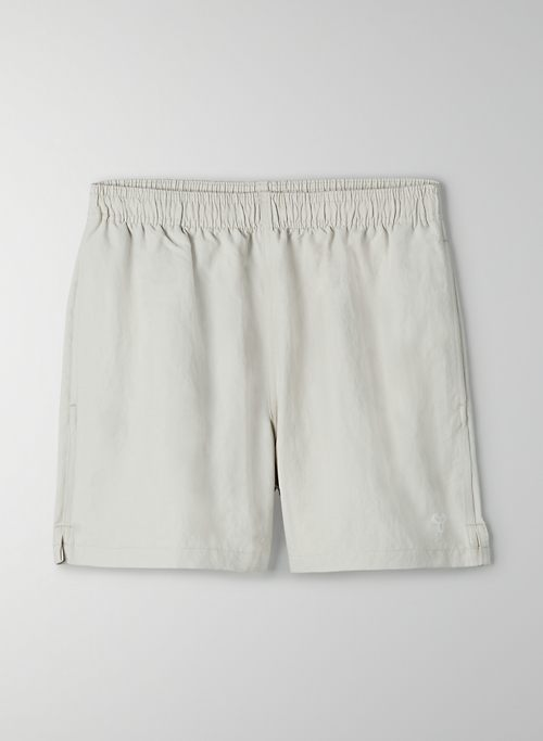 "ABEL SHORT 5"" - Water-repellent, mid-rise short"