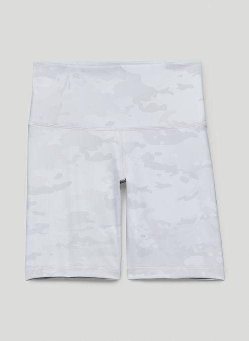 "TNALIFE™ ATMOSPHERE HI-RISE 7"" SHORT - High-waisted camo bike shorts"