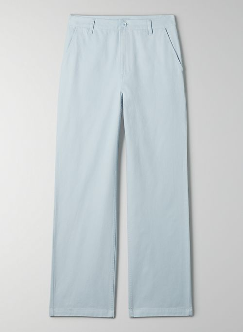 SEDWICK PANT - Mid-rise, cotton twill pant
