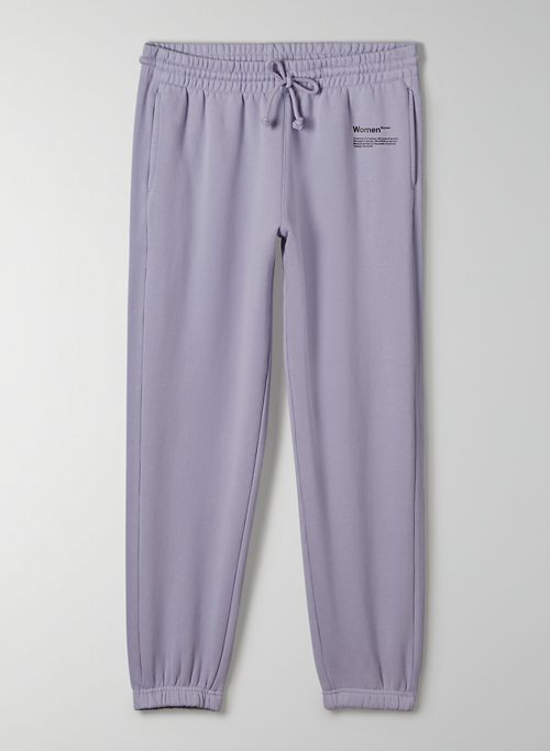 POWER OF WOMEN SWEATPANT - Limited-edition, boyfriend-fit sweatpant