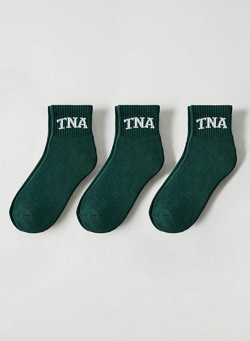 BASE ANKLE SOCK 3-PACK - Cotton ankle socks