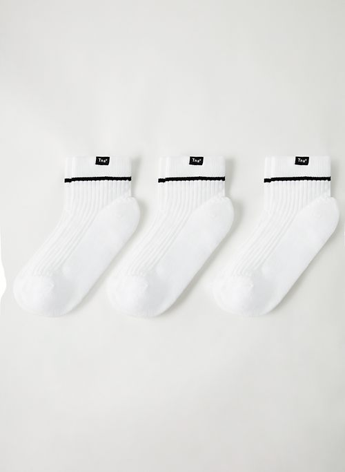 BASE ANKLE SOCK 3-PACK - High ankle sock, three-pack