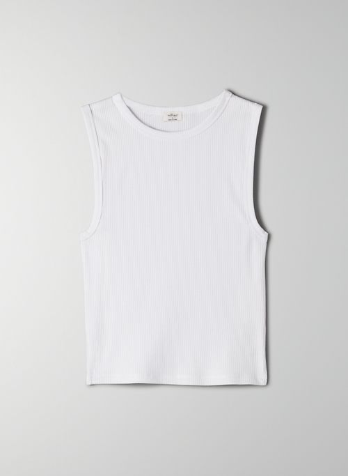 ADVENTURE TANK - Ribbed tank top