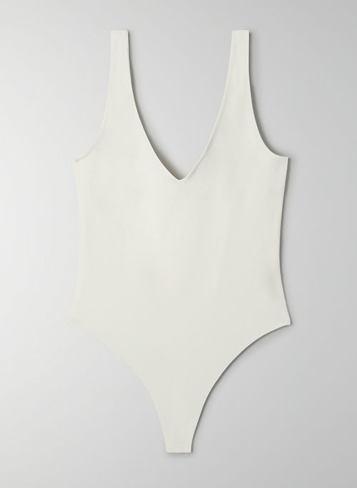 JETTE BODYSUIT - V-neck bodysuit