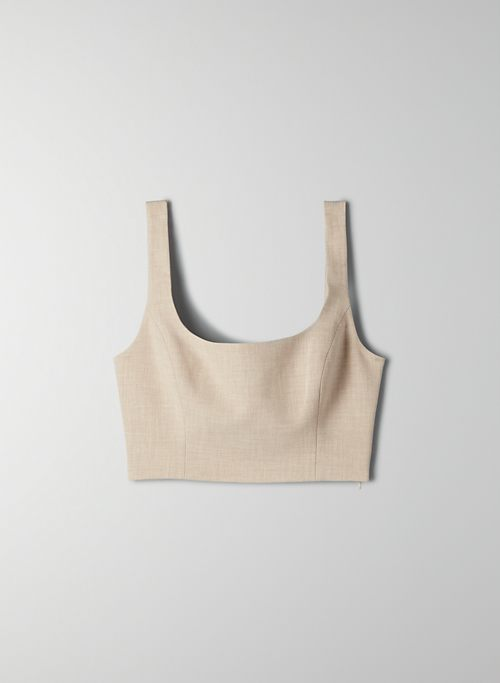 IBIZA BUSTIER - Cropped bustier top