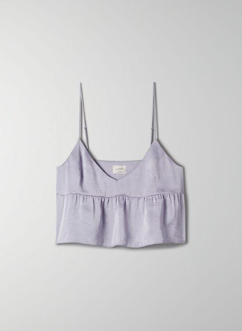 LOVER CAMISOLE - Peplum V-neck camisole