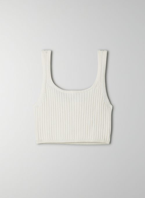 MANILA BRA TOP - Ribbed, knit bra top