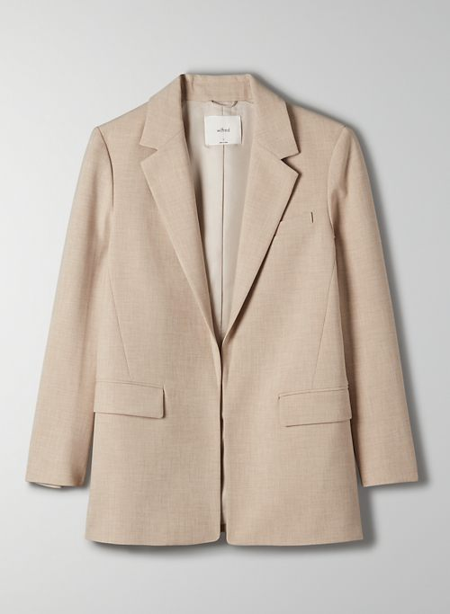 LUPO BLAZER - Relaxed-fit, open blazer