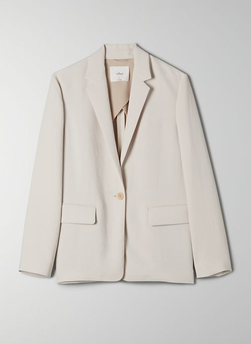 ALANYA BLAZER - Single-breasted, relaxed-fit blazer