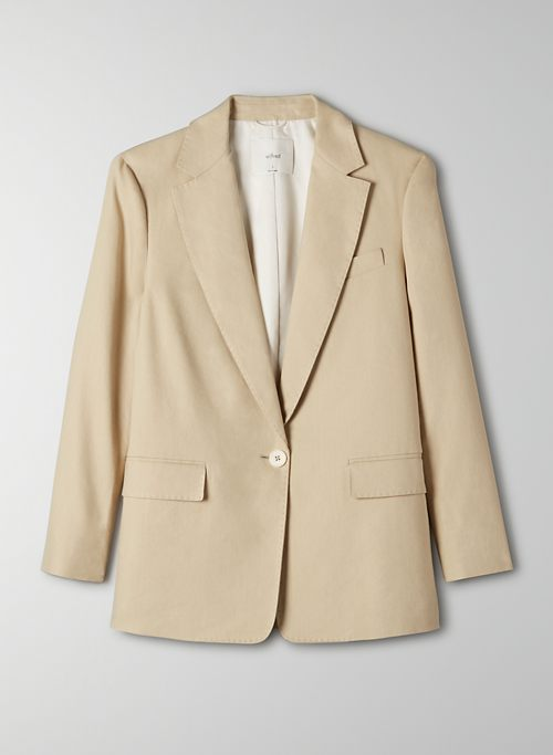 TRIESTE BLAZER - Single-breasted linen blazer