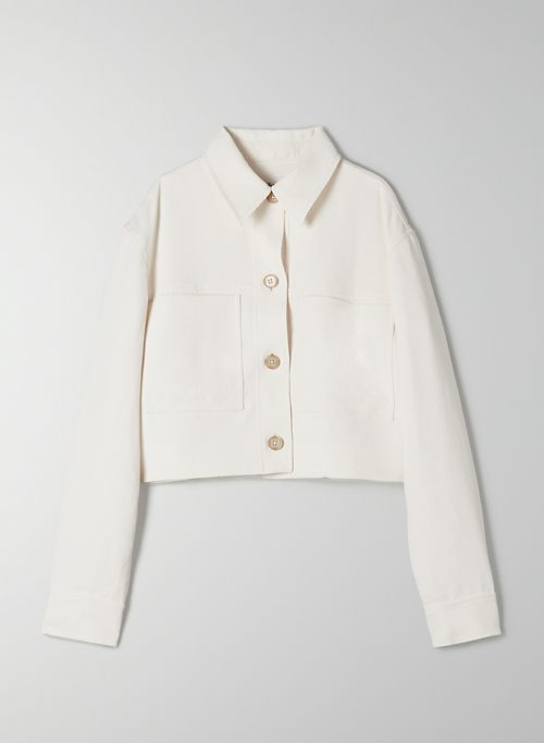 LITTLE CROPPED JACKET - Cropped button-up jacket