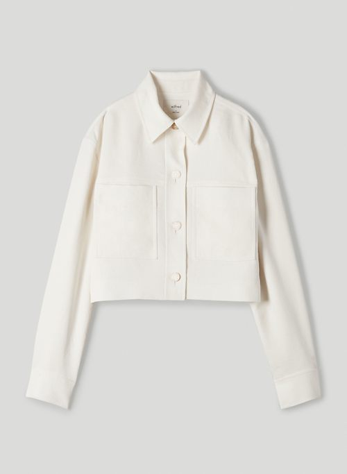 LITTLE CROPPED JACKET - Cropped, button-front jacket