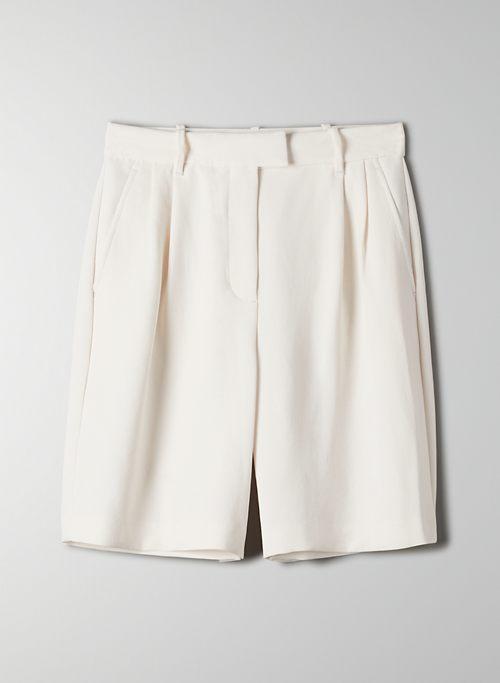 LIMERICK SHORT - Long, high-waisted shorts