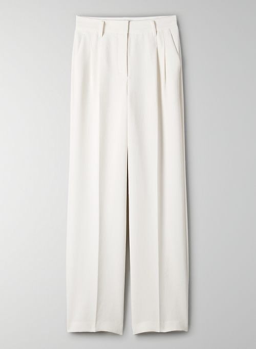 EFFORTLESS PANT - High-waisted, wide-leg pant