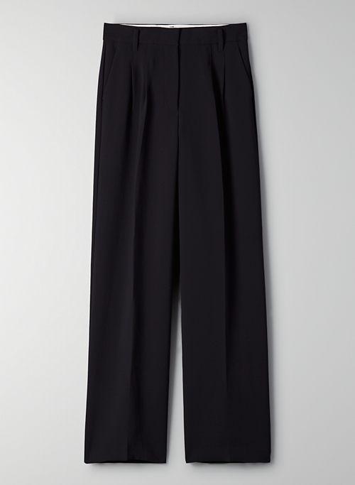 EFFORTLESS PANT - High-waisted, wide-leg pants