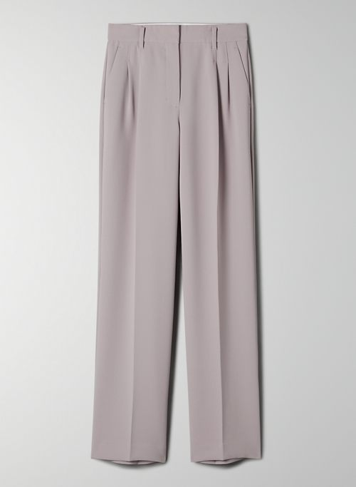 EFFORTLESS PANT - High-waisted, wide-leg pants