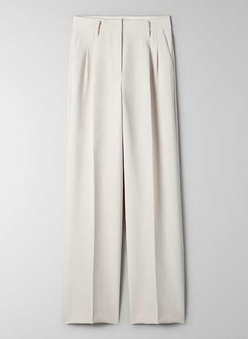 EFFORTLESS PANT - High-waisted, wide-leg trouser